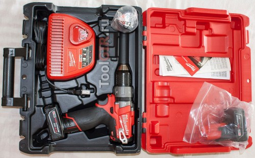 Milwaukee M12 Fuel 2404-22 - Комплект