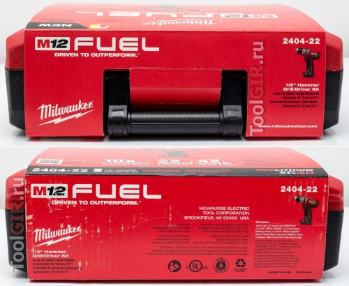 Milwaukee M12 Fuel 2404-22 - Информация на упаковке