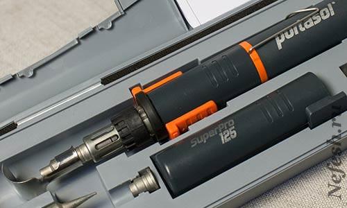 Обзор газового паяльника Portasol Super Pro 125