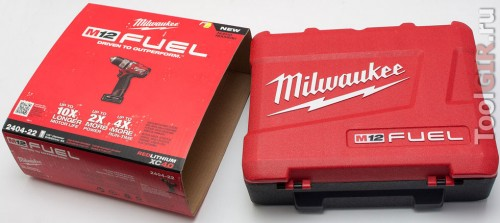 Milwaukee M12 Fuel 2404-22 - Упаковка