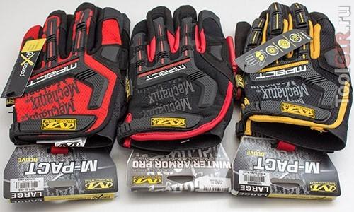 Сравнение оригинальных перчаток Mechanix M-Pact с подделкой