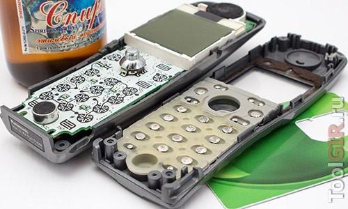Ремонт резиновых кнопок (пультов, телефонов)