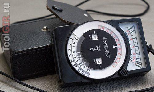 Люксметр из экспонометра или фотоаппарата